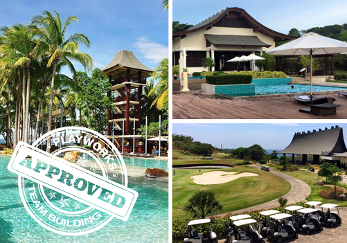 Anvaya Cove Team Building approved by Playworks