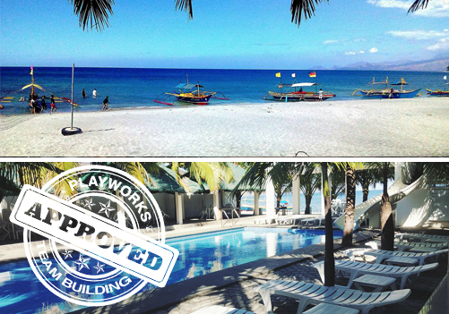 Bonito Beach Resort Team Building approved by Playworks