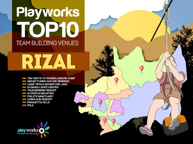 Top Ten Team Building Venues in Antipolo and Rizal