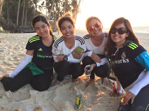 Playworks Angels in Boracay, Philippines!