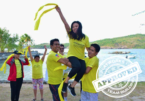 Punta Fuego Team Building with Playworks